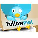 Folgen Sie mir auf Twitter
